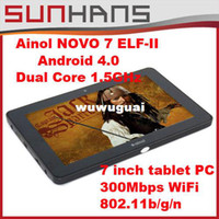 Wholesale 7inch Ainol Novo7 Elf II Android Dual Core GHz x Capacitive Screen Tablet PC