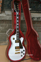 Wholesale Deluxe Alpine white ebony custom shop Electric Guitar best Musical Instruments