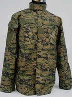 Hunting army bdu - USMC Army Navy Digital Camo Woodland BDU Uniform Set Hunting Suit Hunting Sets