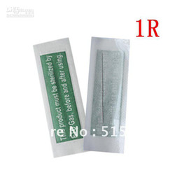 Wholesale 1RL Sterilized Stainless Steel Permanent Makeup Tattoo Eyebrow Needles
