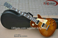 Wholesale Custom shop guitar Tiger Flame Electric guitar China guitar