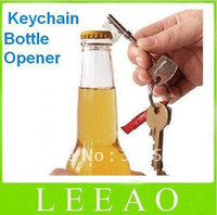 Wholesale 6pcs Key Shape Bottle Beer Can Opener Portable Keychain