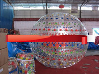 Wholesale 2012 Black NEW ZORB BALL TPU or mm PVC zorb ball GRASS BALL Dual harness with air blower tobe