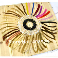 Wholesale colour ring color chart with colors for human hair extensions
