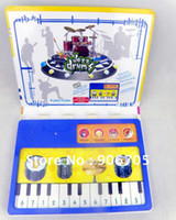 Wholesale Drum and Piano childrens books in english musical book educational toys for
