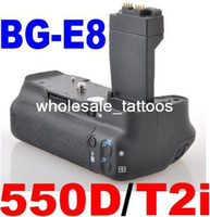 bg grips - NEW BATTERY GRIP FOR CANON Rebel T2i EOS D SLR BG E8