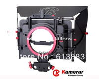 Wholesale Professional Kamera matte box Camilla clover shading bucket with a the filter card slot Aluminum