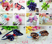 Wholesale Baby Hair bands Hairband Girls Hair Accessories bows ribbon head flower headbands designs