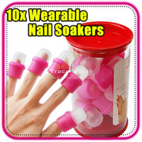 Wholesale HOT SALE Wearable Nail Art Polish Removal Remover Soaker Acrylic Artificial Tip Tool Treatment Bar