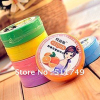 Wholesale Min Mix Order Fruit Flavor Nail Art Polish Remover Pads Wet Wipes Paper