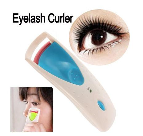 Electric Instant Heated Eyelash Curler Eye Lashes Long Lasting ...