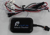Wholesale GPS LBS SMS GPRS GSM Motorcycle tracker Quadband GSM anti theft system Geo fence Vibration alarm Rem