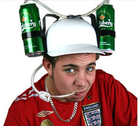 Character beverage hat - Retail Football fans cap wine beverage cap beer cap creative hat for the ball Freeshipping X0010