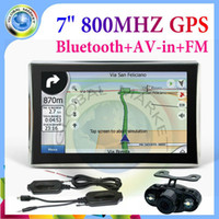 atlas systems - 7 INCH GPS NAVIGATION SYSTEM SDRAM MB Built in GB FM SiRF Atlas V MHZ CPU waterproof Wireless