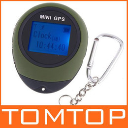 Wholesale Outdoor Protable Mini GPS Tracker Navigation with Handheld Keychain H4012 Freeshipping Dropshipping