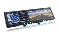 Wholesale Cheap Sell Inch Bluetooth Rearview Mirror with Built in GPS GB load D MAP AV IN