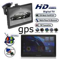 Wholesale quot Car GPS navigation Android tablet pc HD x480 cortex A8 GHz M DDR2 Americ