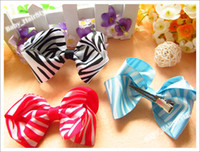 Wholesale 30pcs Color Kid s Hair Accessories Butterfly Bowknot Hair Bows for headband Girl s Hair Ornament
