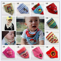 Wholesale Toddler bib bibs toddler scarf scarves baby Bibs baby bib Wipes Wraps Burps Cloth Scarf JUL292