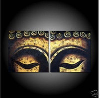 amazing pictures animals - Framed Panels High End Amazing Large Buddha Face Painting Modern Canvas Wall Art Home Decoration Feng Shui Picture XD00864