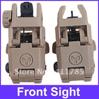 Wholesale Hot sell in Folding Back up Sight Front amp Rear Sight for AR15 M16 Platform Sand