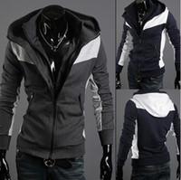 Wholesale Men s wear new style winter men hoodies amp sweatershirt leisure hoodies cardigan outwear