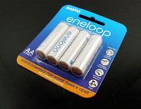 Wholesale Promotion Pack Batteries SANYO AA eneloop mAh Pre charged Rechargeable Battery