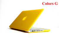 Wholesale Macbook pro case quot Rubberized Anti Glare Case laptop case for Cover all model
