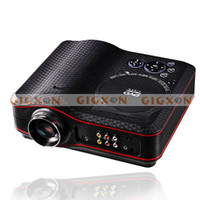 Wholesale Portable WVGA LED DVD Projector Multimedia Player Projector All in one Home Theater
