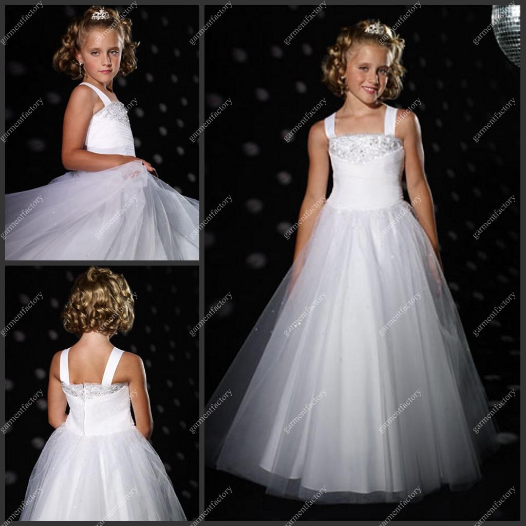Kids Bridesmaid Dresses Beaded Price Comparison | Buy Cheapest ...