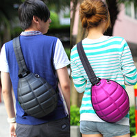 Wholesale Fashion Creative Grenade Stylish Bag Backpack Aslant Bags Satchel Travel Shoulder Bag Messenger Bag