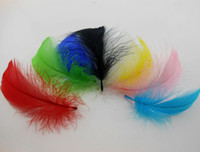 goose feathers - Goose feather cm colors DIY Natural Goose feathers