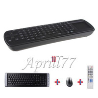 Wholesale RC12 Touchpad Mini Air Fly Mouse GHz Wireless Keyboard For Android TV Box Mini PC Full Function