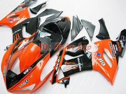 Orange Eif For KAWASAKI ZX6R 636 2005 2006 ABS ZX-6R 6R 05 06 ZX 6R FAIRING BODY WORK Free shipp