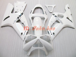 High grade All White body for KAWASAKI ZX6R 636 2003 2004 ZX-6R 6R 03 04 ZX 6R fairing kit RX1N
