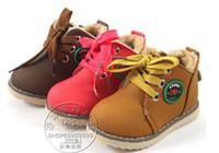 Wholesale New Fashion Children Snow Boots Kids Cotton Padded Shoes Infant Boy Girl Fashion Winter Warm Shoes