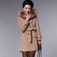 Fashion Coats wholesale outerwear Korean woolen coat fashion...