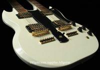 Hollow Body 6 Strings Mahogany Alpine White 12 strings Guitar 1275 Custom SHOP Double Neck 6 strings & 12 strings Electric Guitar