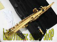 Wholesale NEW golden soprano saxophone with case Musical instrument
