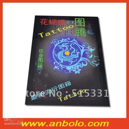 Wholesale 2012 New Tattoo Books Flower Butterfly by Chinese Tattoo Flash Sketch
