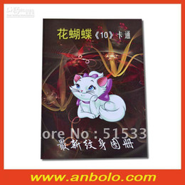 Wholesale 2012 New Tattoo Book Flower Butterfly Cartoon by Chinese Tattoo Artist