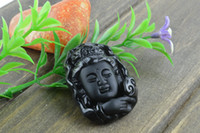Cheap Asian & East Indian Guanyin Pendent Best Unisex Gift carved stone pendent