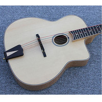 0-5 W archtop guitar acoustic - Electric AAA Hand Carved Archtop Jazz Acoustic Guitar Hard Case
