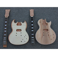 Wholesale Electric Unfinished Guitar DIY with All The Hardware by EMS