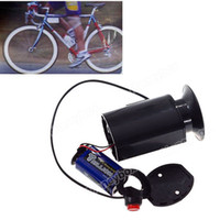 Wholesale Durable Plastic Material Waterproof Electric Horn with Mount for Bicycle Black