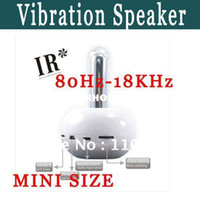 Wholesale high quality IR T5 vibration speaker two way plug deck and CD player