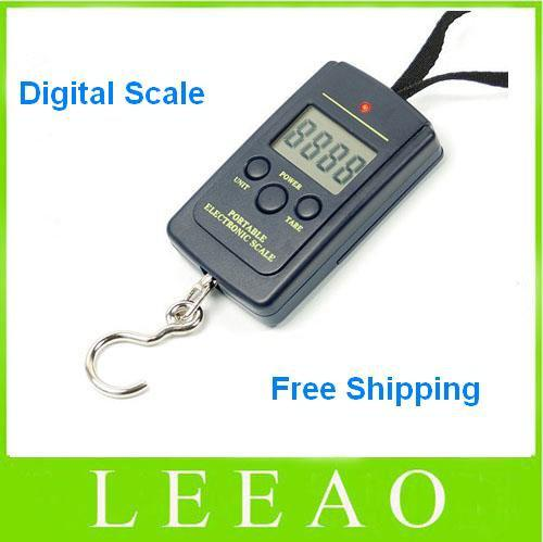 Best 40kg 20g weight digital scale handy scales hanging for Best digital fish scale