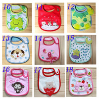 Wholesale New designer baby bibs for babies boys and girls baby clothes clothing Cotton Towel