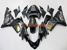 Yellow Black Fairing kit for Kawasaki ZX-10R 04-05 ZX10R 2004 2005 ZX10R 04 05 ZX 10R fairings
