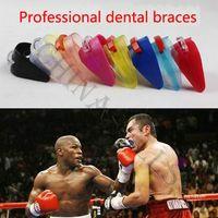 Protective Gear basketball protective - sport Support karate kickboxing dental braces basketball boxing sports mouthguard sanda Teeth dental braces mouth guard